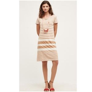 Anthropologie New Haven Striped Maeve Dress Large